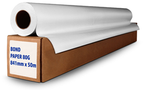 Bond Paper/Plotter Paper Rolls 80g