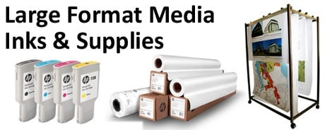 large format media inks & supplies