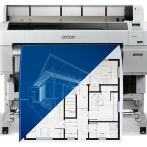 """Epson SureColor T5200 36"""" Printer (A0)"""