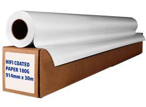 Hi Fi Coated Paper Rolls 90g
