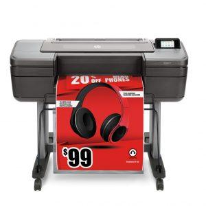 HP Designjet Z6 A1 Postscript Printer
