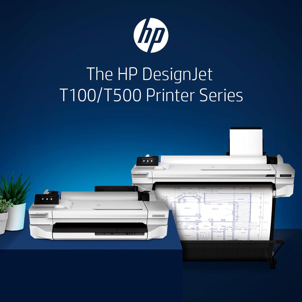 HP Designjet T530 A0 Printer