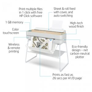 HP Designjet Studio A1_Wood
