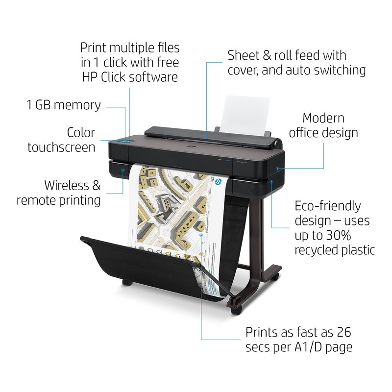 HP Designjet T650 A1_Descriptive